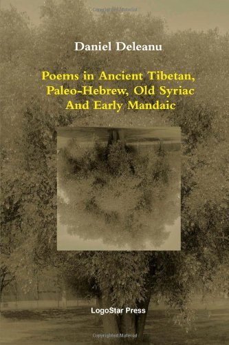 9781105878435: Poems in Ancient Tibetan, Paleo-Hebrew, Old Syriac and Early Mandaic