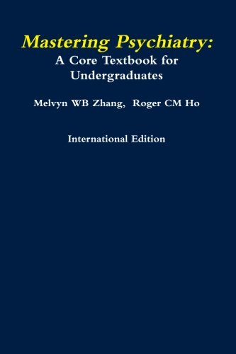 9781105937194: Mastering Psychiatry: A Core Textbook For Undergraduates