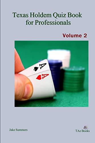9781105966019: Texas Holdem Quiz Book for Professionals, Volume   2