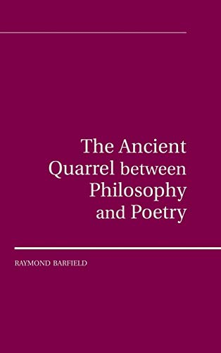 The Ancient Quarrel Between Philosophy and Poetry: Barfield, Raymond