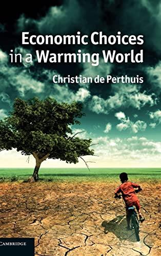 Economic Choices in a Warming World (Hardback): Christian de Perthuis