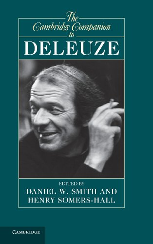 9781107002616: The Cambridge Companion to Deleuze (Cambridge Companions to Philosophy)