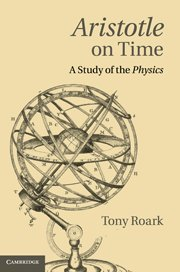 9781107002623: Aristotle on Time: A Study of the Physics