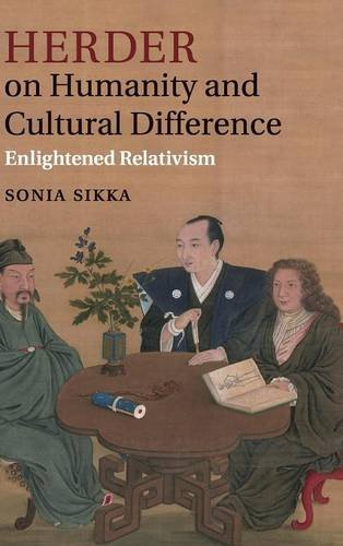 9781107004108: Herder on Humanity and Cultural Difference: Enlightened Relativism