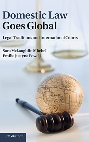 9781107004160: Domestic Law Goes Global Hardback