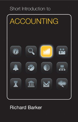 9781107004405: Short Introduction to Accounting Euro Edition Hardback (Cambridge Short Introductions to Management)