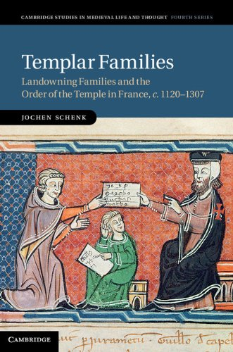 9781107004474: Templar Families: Landowning Families and the Order of the Temple in France, c.1120-1307