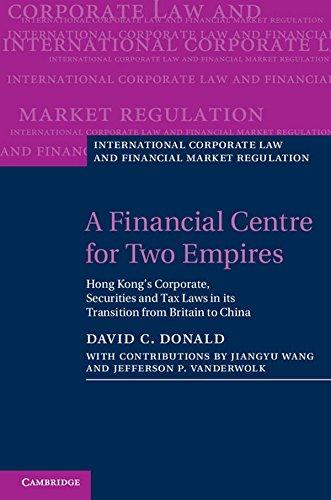 A Financial Centre for Two Empires: Hong: Donald, David C.