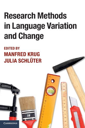 9781107004900: Research Methods in Language Variation and Change