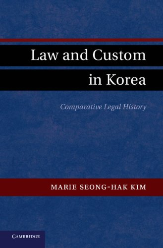 9781107006973: Law and Custom in Korea: Comparative Legal History