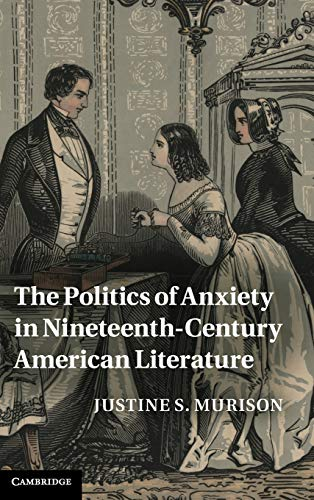 The Politics of Anxiety in Nineteenth-Century American Literature (Hardback): Justine S. Murison