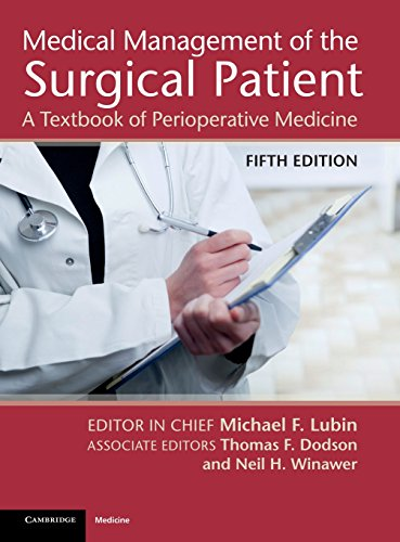9781107009165: Medical Management of the Surgical Patient: A Textbook of Perioperative Medicine