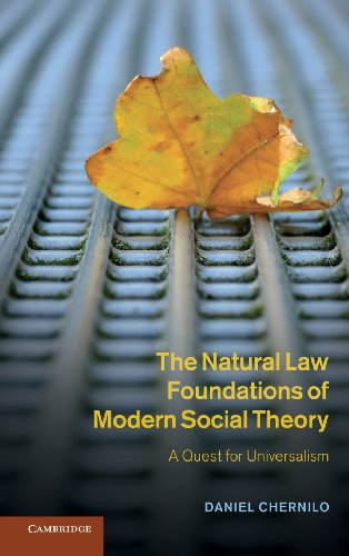 9781107009806: The Natural Law Foundations of Modern Social Theory Hardback