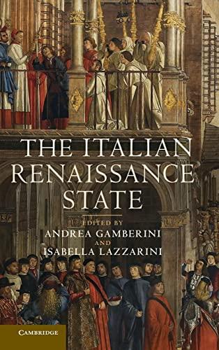 9781107010123: The Italian Renaissance State