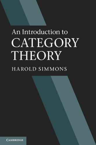 9781107010871: An Introduction to Category Theory