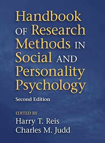 9781107011779: Handbook of Research Methods in Social and Personality Psychology