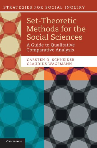 9781107013520: Set-Theoretic Methods for the Social Sciences: A Guide to Qualitative Comparative Analysis (Strategies for Social Inquiry)