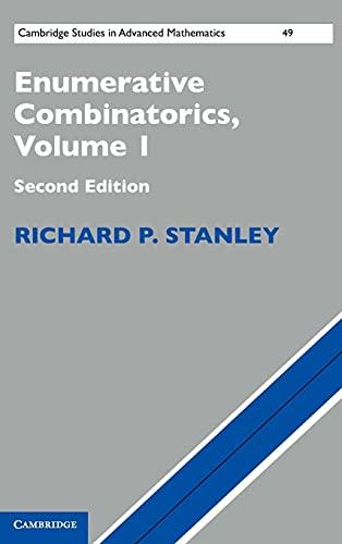 9781107015425: Enumerative Combinatorics: Volume 1 (Cambridge Studies in Advanced Mathematics)