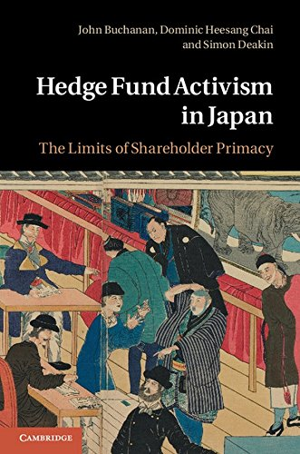 9781107016835: Hedge Fund Activism in Japan: The Limits of Shareholder Primacy