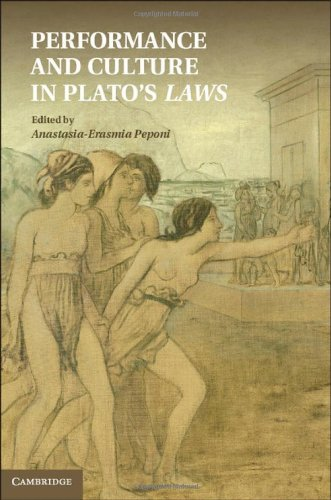 Performance and Culture in Plato's Laws Hardback: Peponi