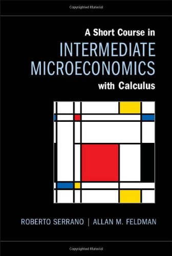 9781107017344: A Short Course in Intermediate Microeconomics with Calculus Hardback