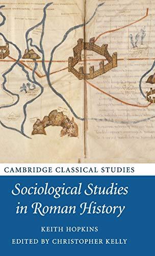 9781107018914: Sociological Studies in Roman History (Cambridge Classical Studies)