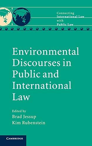 Environmental Discourses in Public and International Law (Hardback)