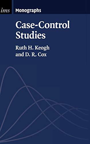 9781107019560: Case-Control Studies (Institute of Mathematical Statistics Monographs)