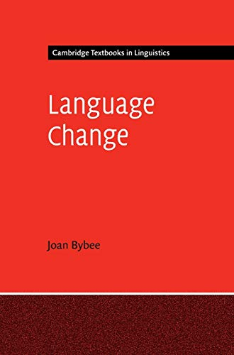 9781107020160: Language Change (Cambridge Textbooks in Linguistics)