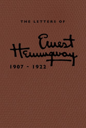 9781107020269: The Letters of Ernest Hemingway Leatherbound Edition: Volume 1, 1907-1922