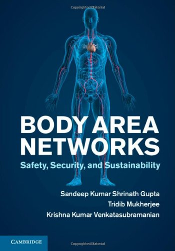 Body Area Networks: Safety, Security, and Sustainability: Professor Sandeep K.
