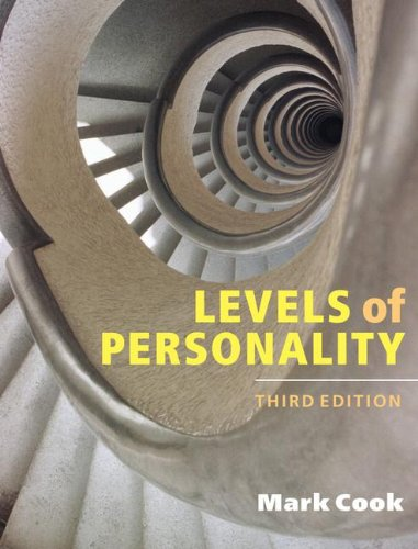 Levels of Personality (Hardcover): Mark Cook