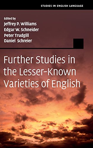 9781107021204: Further Studies in the Lesser-Known Varieties of English (Studies in English Language)