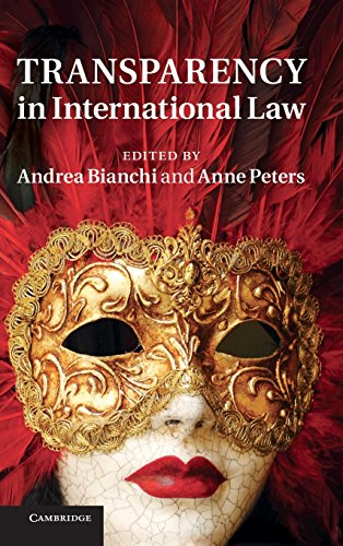 9781107021389: Transparency in International Law