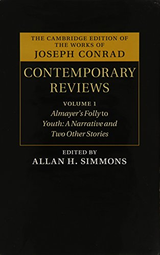 Joseph Conrad: Contemporary Reviews 4 Volume Hardback Set (Hardback)