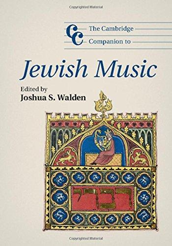 9781107023451: The Cambridge Companion to Jewish Music (Cambridge Companions to Music)