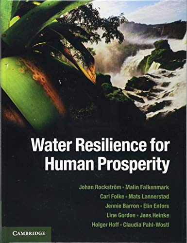 9781107024199: Water Resilience for Human Prosperity