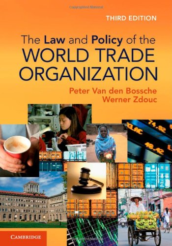 9781107024496: The Law and Policy of the World Trade Organization: Text, Cases and Materials
