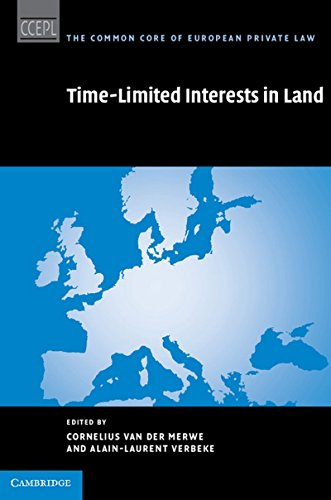 9781107026124: Time Limited Interests in Land (The Common Core of European Private Law)