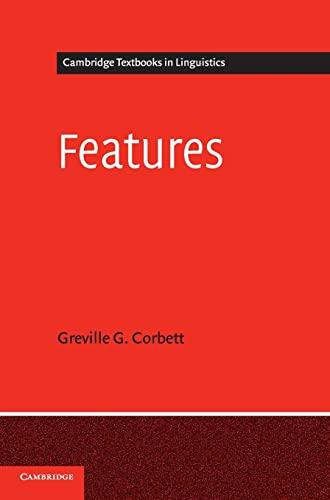 Features.: CORBETT, G. G.,