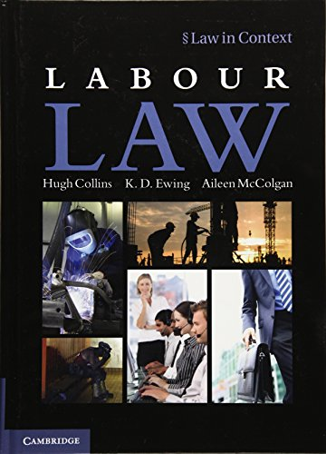 9781107027824: Labour Law (Law in Context)