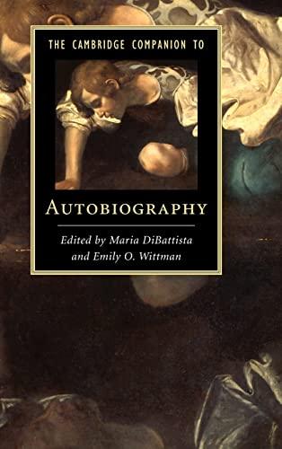 9781107028104: The Cambridge Companion to Autobiography (Cambridge Companions to Literature)