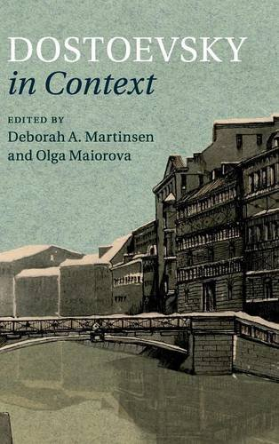 9781107028760: Dostoevsky in Context (Literature in Context)