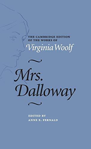 9781107028784: Mrs. Dalloway