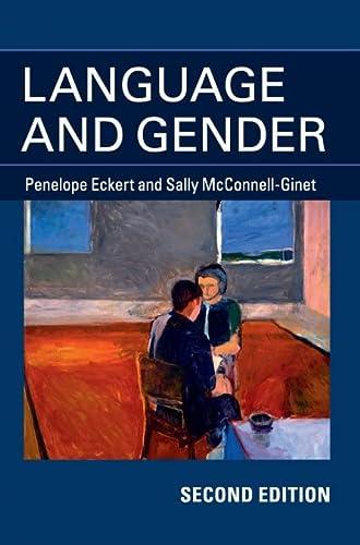9781107029057: Language and Gender 2nd Edition Hardback