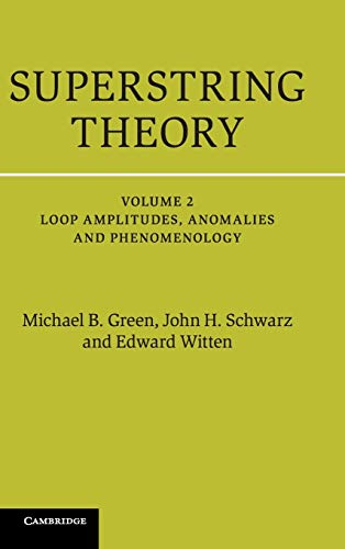 9781107029132: Superstring Theory 2 Volume Hardback Set: Superstring Theory: 25th Anniversary Edition: Volume 2