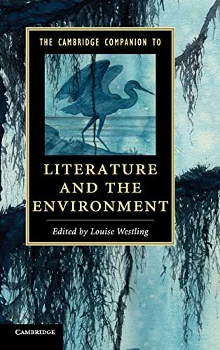 9781107029927: The Cambridge Companion to Literature and the Environment (Cambridge Companions to Literature)