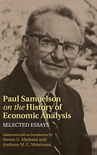 9781107029934: Paul Samuelson on the History of Economic Analysis: Selected Essays (Historical Perspectives on Modern Economics)