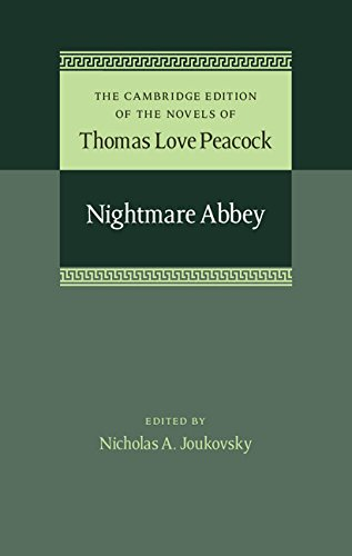 9781107031869: Nightmare Abbey (The Cambridge Edition of the Novels of Thomas Love Peacock)