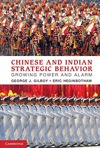 Chinese and Indian Strategic Behavior: Growing Power and Alarm: Eric Heginbotham,George J. Gilboy
